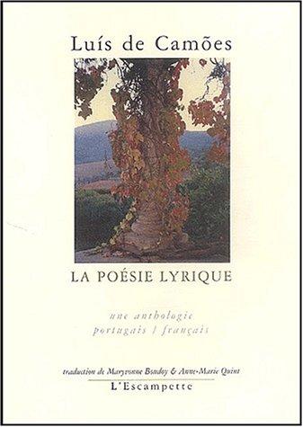 La poésie lyrique : Edition bilingue français-portugais