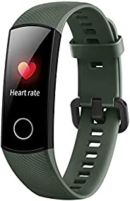 HONOR Band 5 (OliveGreen)- Waterproof Full Color AMOLED Touchscreen, SpO2 (Blood Oxygen), Music Control, Watch