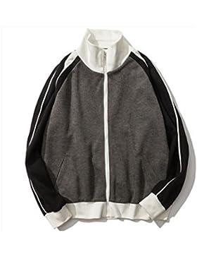 Cappotto maschile maglione DZYZ Harajuku Wind Bf Autunno Sezione sottile , black , m