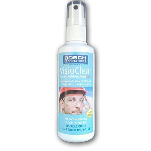 Antibeschlag Spray VisioClear Power Antibeschlag plus³ (50 ml) - Bosch Laboratories- Der Testsieger