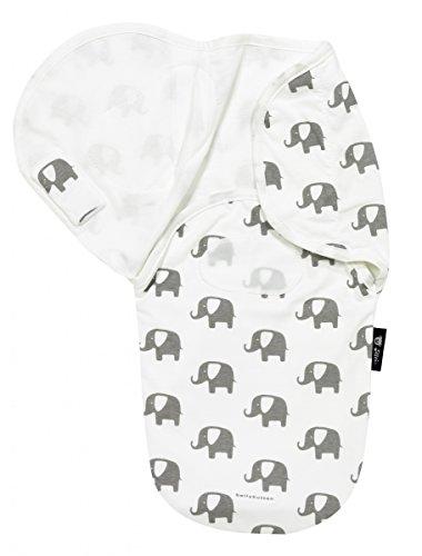 Produktbild Alvi Wickeltuch Harmonie Special Edition Elephants white one size