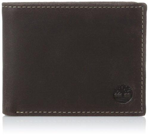 Timberland Men's Delta Passcase (Wallet Braun Passcase)