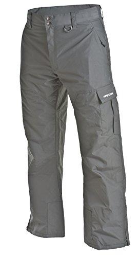 Arctix Herren Mountain Premium Snowboard-Cargohose, Herren, Men's Mountain Snowboard Shell Cargo Pant, anthrazit, X-Large (40-42W * 32L)