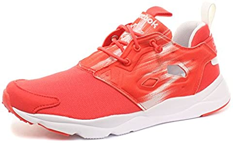 Reebok Furylite Contemporary, Chaussures de Running Entrainement Femme, Rouge / Blanc (Rouge Laser / Blanc), 39 EU