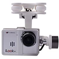 Walkera White Plastic G-2D Brushless Gimbal for iLook/GoPro Hero 3 on X350 Pro FPV Quadcopter TE066 from Walkera