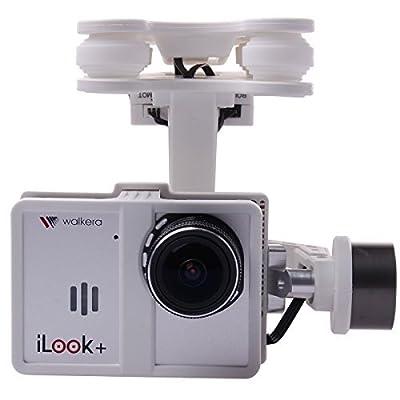 Walkera White Plastic G-2D Brushless Gimbal for iLook/GoPro Hero 3 on X350 Pro FPV Quadcopter TE066