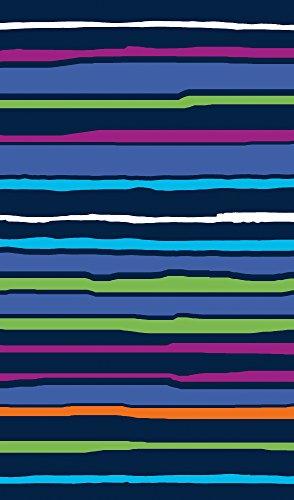 Strandtuch Große Gewebt 100% ägyptischer Baumwolle - freies Verschiffen - Maßnahmen 170x100cm - Verschiedene Farben. Mod.Sally. (Blau) (Strand Handtuch & Hafen)