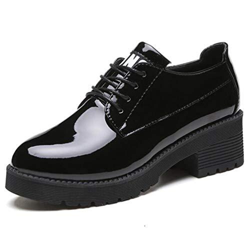 Las Mujeres BritáNicas Oxfords Brogue Zapatos OtoñO
