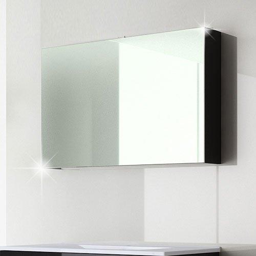 spiegelschrank design 120 cm