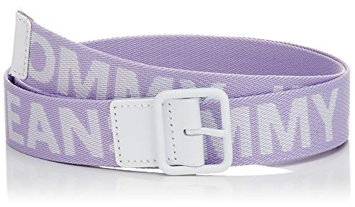 Damen Logo Gürtel (Hilfiger Denim Damen TJW Bold Logo Belt 3.0 Gürtel, Violett (Pastel Lilac 523), 6631 (Herstellergröße: 85))
