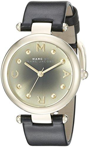 Marc Jacobs-Orologio da donna al quarzo con Display analogico e braccialetto in pelle MJ1409, colore: cioccolato