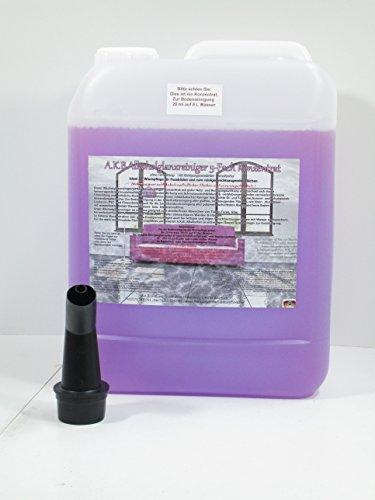 A.K.B. Glanzreiniger Konzentrat (idealer Bodenreiniger, Hartbodenreiniger) 8605 (5 L + 1 Gratis-Ausgiesser),allzweckreiniger, allesreinige
