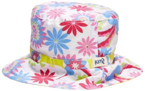 Kite Girl's Reversible Hummingbird and Spiro Floral Hat