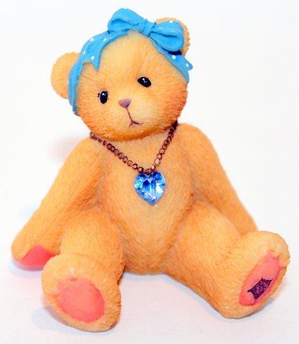 Cherished Teddies Little Sparkles Birthstone Bear December by Enesco -