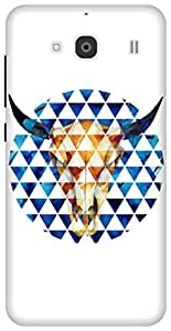 The Racoon Lean Taurus hard plastic printed back case / cover for Xiaomi Redmi 2