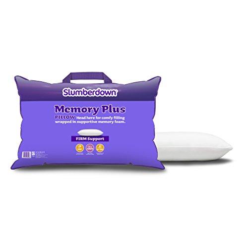 slumberdown-memory-foam-plus-pillow