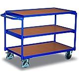 VARIOFIT Tischwagen Transportwagen, Eigengewicht: 36 kg, Ladefläche: 1000x600 mm