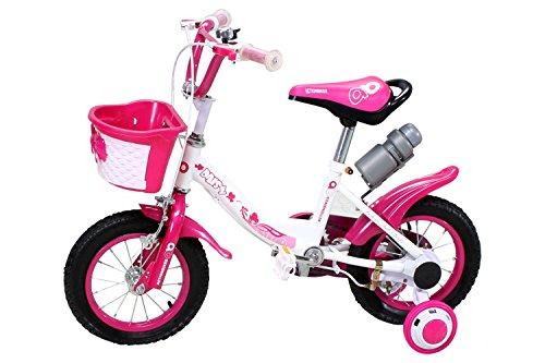 Actionbikes Kinderfahrrad Daisy ab 3-9 Jahren 12 16 20 Zoll Grün Kinder Mädchen Jungen Fahrrad ... (12` Zoll)