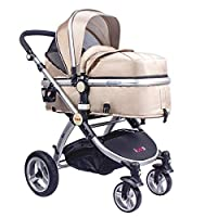 High Quality Baby Stroller IBEIS Prams 2 in 1 for Newborns European Folding Baby Carriage for 0 to 36 Months