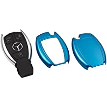 Mercedes Llave Cover Key Carcasa Mando a distancia Apertura Azul Metallic C26Mercedes Clase A W168W169Clase B W246clase C W203W204CL203CL204C204W210W211Clase E W212Clase S W220W221CLK W209S de Coupe C207SL R230R231SLK R171R172Viano W639CLS C219C218