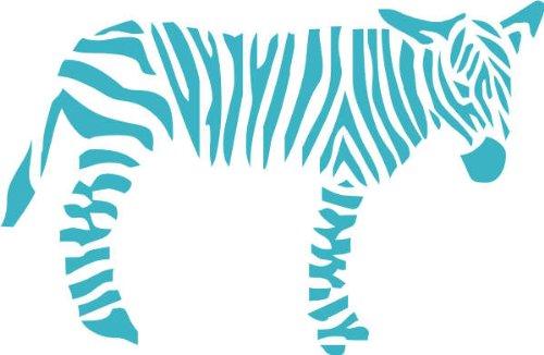 Indigos UG 4250380595382 W056 Adesivi da Parete, Modello Zebra Africa,