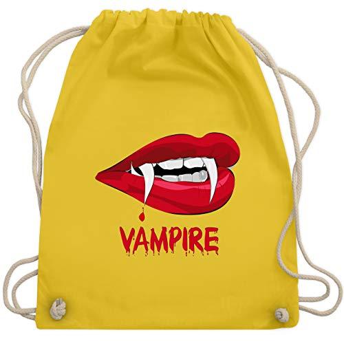 Halloween - Vampire Blut - Unisize - Gelb - WM110 - Turnbeutel & Gym ()