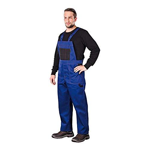Reis MMSNB_52 Multi Master Schutzlatzhose, Blau-Schwarz, 52 Größe