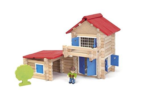 Jeujura - 8033 - La Maison En Bois - 140 Pièces