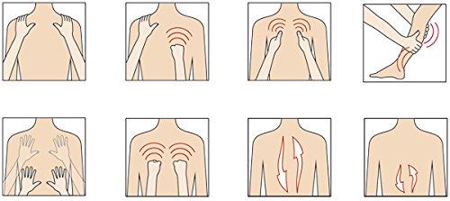 Massagesessel »Komfort Deluxe«, mit Shiatsu-Massagefunktion, drehbar, Transportrollen -