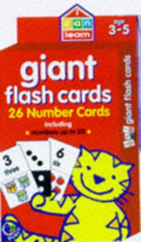 Giant flash cards : 28 number cards