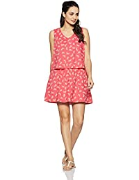 424ae074dfb GAP Women s Layered lace up romper