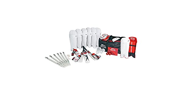 407e53c528 Slazenger Unisex Cricket Kit  Amazon.co.uk  Sports   Outdoors