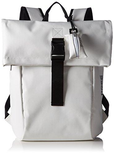 BREE Damen Punch 92 Rucksackhandtaschen, 36x42x12 cm Mehrfarbig (white/black 508)