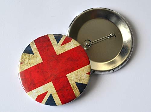 Button Anstecknadel Union Jack Englische Flagge
