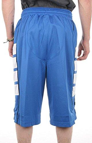Jordan mens Cat scratch basketball Short 589345432 Blue/Black