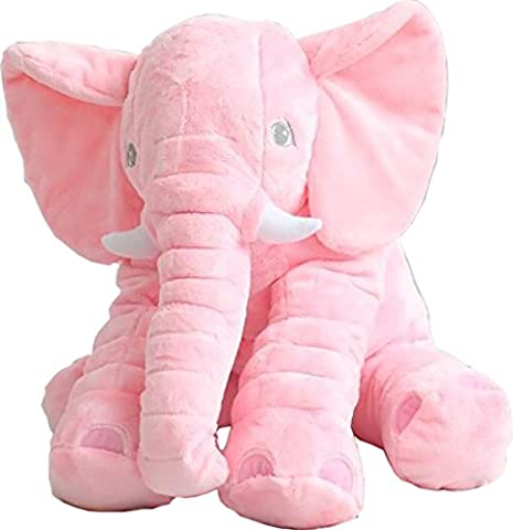 Bonways 60cm Baby Soft Plush Elephant Pillow Dolls Toys Small Kids Children Doll Gifts
