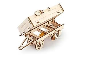 Le Puzzle Mécanique En 3D D'Un Camion Remorque D'Ugears