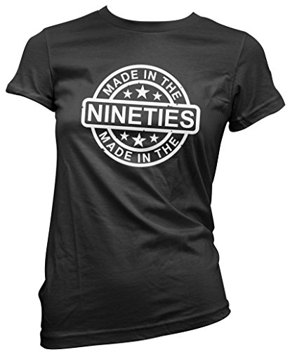 Made In The Nineties - Women's T-Shirt - Pink, Black or White - SIze 8 to 16