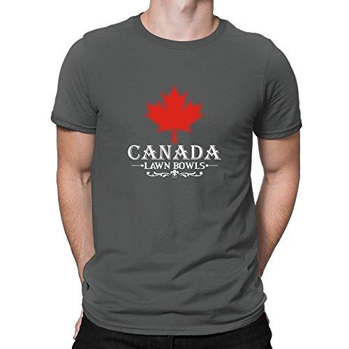 Teeburon MAPLE CANADA Lawn Bowls T-Shirt (Maple Bowl)