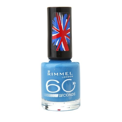 Rimmel 60 Second Nail, Blue my Mind 0.27 fl oz (8 ml) by AB
