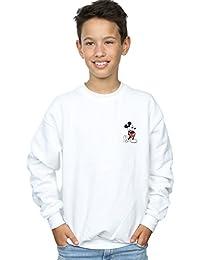 Disney Niños Mickey Mouse Kickin Retro Pocket Camisa De Entrenamiento