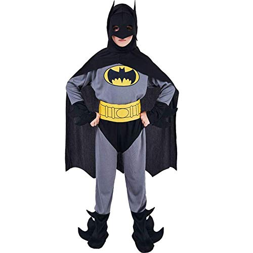 Batman Tanz Kostüm - YYANG Requisiten Cosplay Batman Kostüm Maskerade Kinderkleidung Erwachsene Performance Mantel Show Set,Son-XL