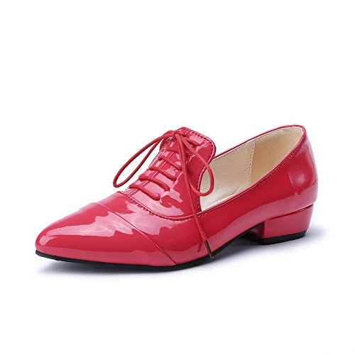 allhqfashion-womens-pull-on-pointed-closed-toe-low-heels-solid-pumps-shoes-red-40