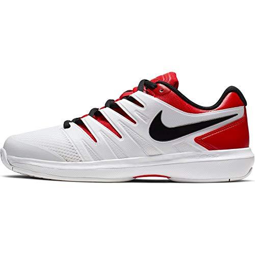 Nike Herren Air Zoom Prestige Hc Tennisschuhe, Mehrfarbig (University Red/Black/White 000), 44 - Prestige Tennis Nike Zoom Air