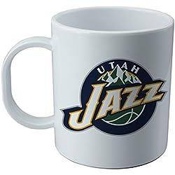 Taza y pegatina de Utah Jazz - NBA
