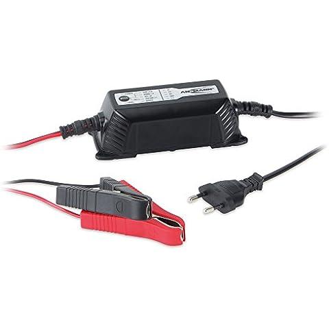 Ansmann 1001-0016 ALCT 6-24/2 - Cargador para baterías de automóviles, motos, motocicletas, baterías de plomo-gel de plomo 12V 6V 24V