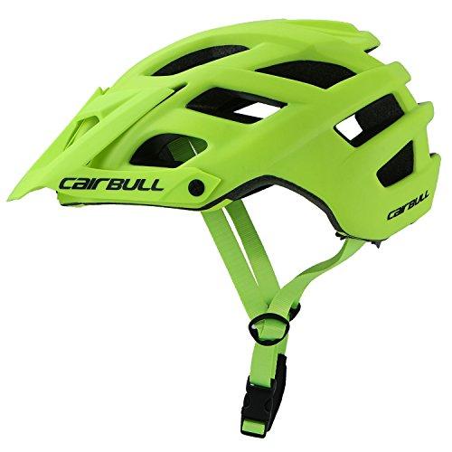 Cairbull City Aerodynamik Größe Specialized Fahrradhelm MTB Helm 55-61 cm Mountainbike Helm Herren & Damen Schwarz mit Rucksack Fahrrad Helm Integral 19...