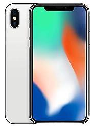 Apple iPhone X, 5,8 Zoll Display, 64 GB, Silber