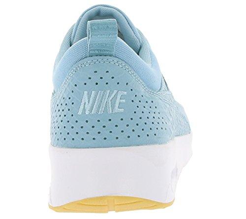Basket, couleur Blue , marque NIKE, modèle Basket NIKE AIR MAX THEA PRM Blue bleu