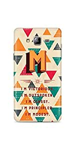 Casenation Alphabet M Samsung Galaxy On5 Glossy Case Principle